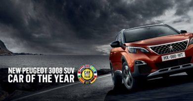 Peugeot 3008 er kåret til årets bil i Europa