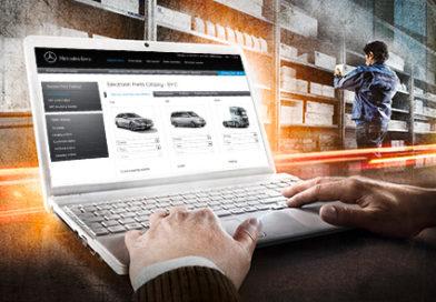 WebParts: Online-bestilling av Mercedes-Benz originaldeler