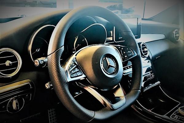 Innvendig bilde Mercedes-Benz 2017-modell C200 sedan 4matic