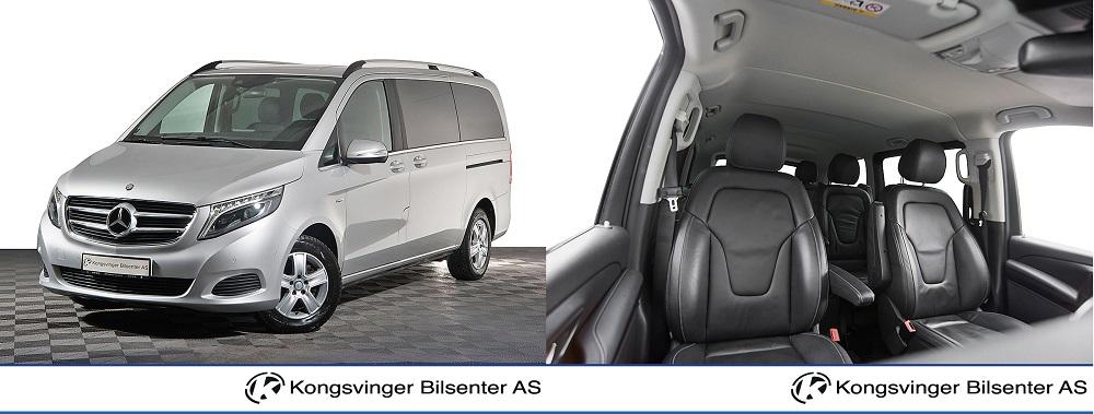 Familiebil 3: Mercedes-Benz V-Klasse V220 CDI Avantgarde aut 6 seter