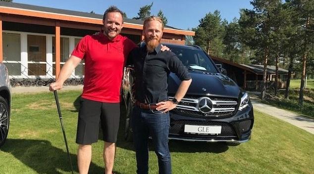 Kongsvinger Golfklubb og Kongsvinger Bilsenter samarbeider