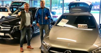 Kongsvinger Bilsenter har inngått en samarbeidsavtale med ultraløperen Steffen Foseid