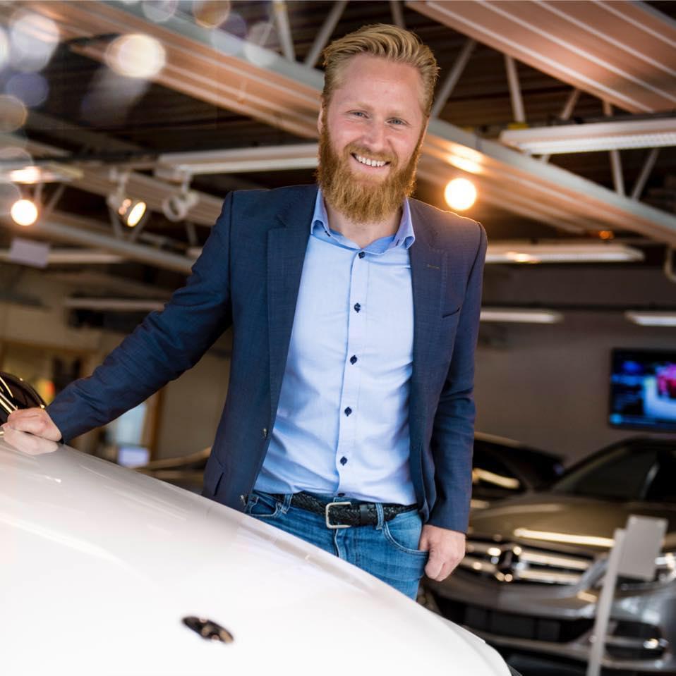 Daglig leder Lars Erik Fremming