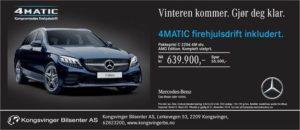 Tilbud på 4Matic Mercedes-Benz