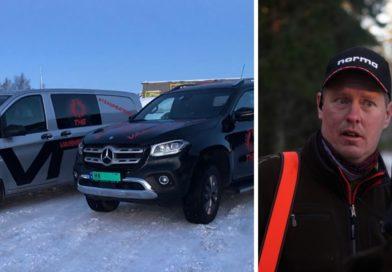 Varmevest med Mercedes på jakt