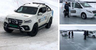 Kongsvinger bilsenter AS inviterte gode kunder og venner til isbanen på Golsfjellet 26. og 27. februar