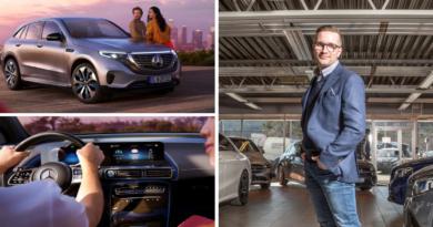 Mercedes-Benz EQC og Anders Wangen