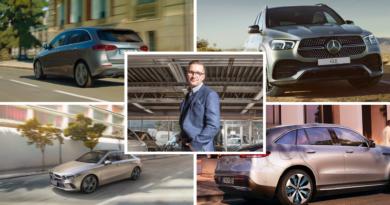 Lanseringsdager for nyheter fra Mercedes-Benz