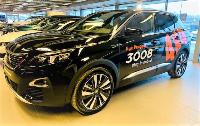 Peugeot 3008 4x4 Hybrid