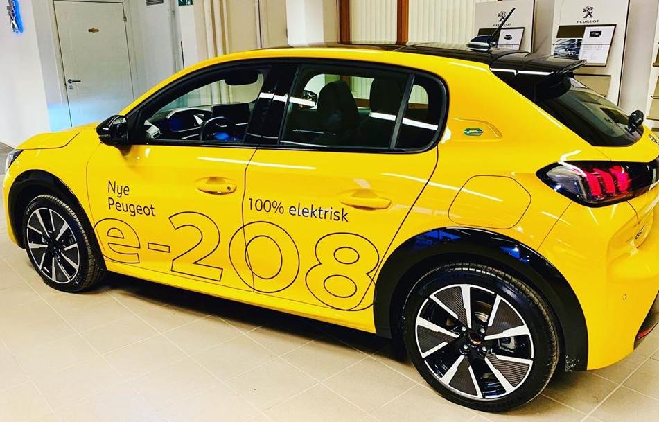 Nye Peugeot e-208