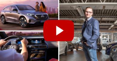 Anders Wangen og Mercedes Benz EQC