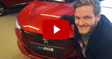 Andreas Molden og Peugeot 208