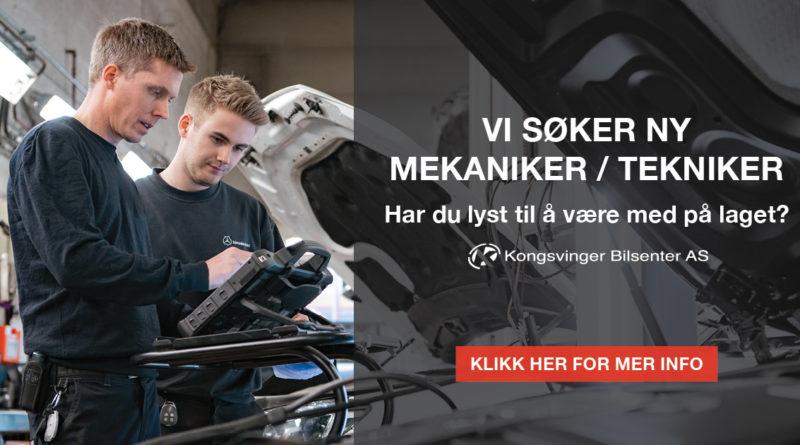 Stilling ledig mekaniker/tekniker