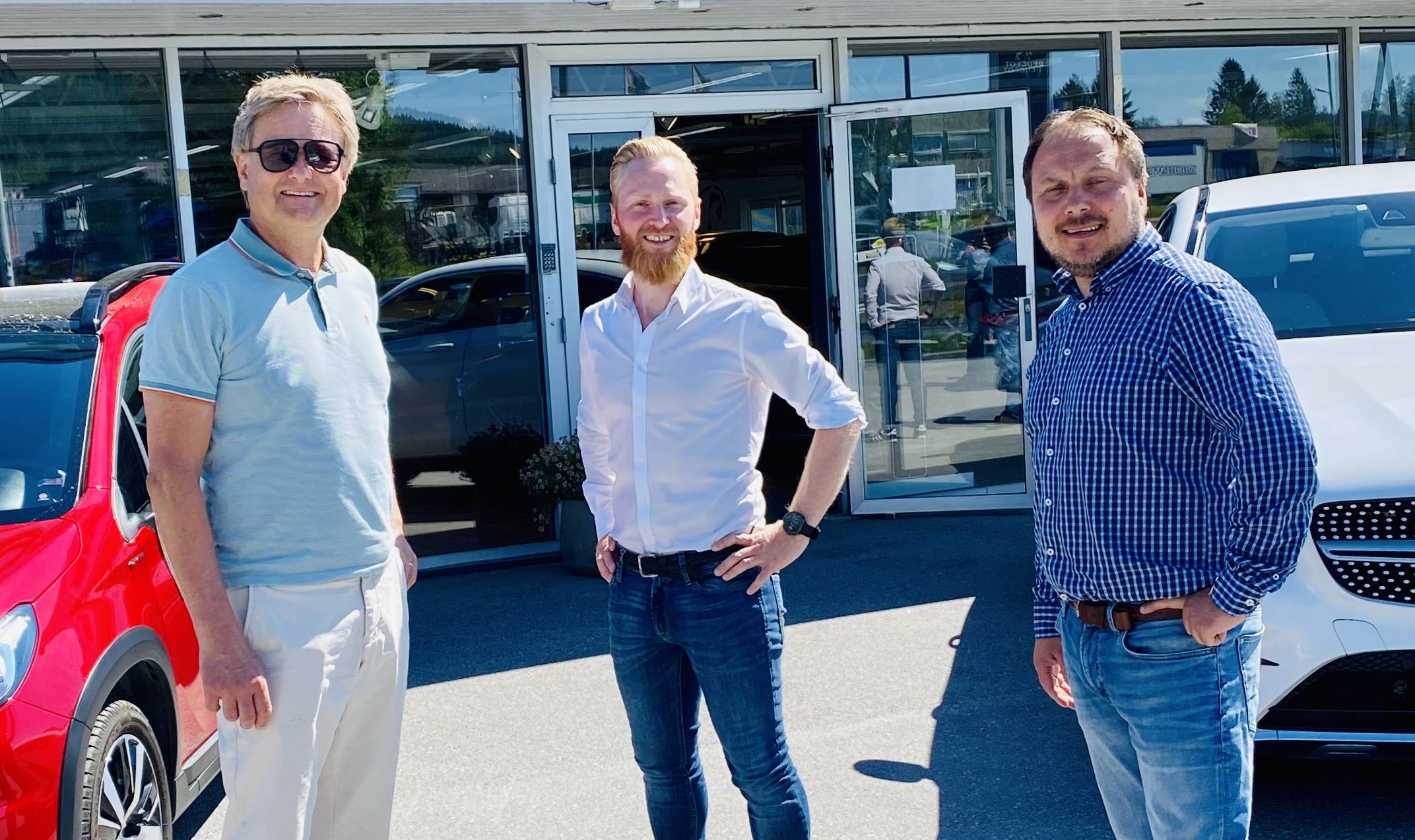 Uno Arnesen, Lars Erik og Stig