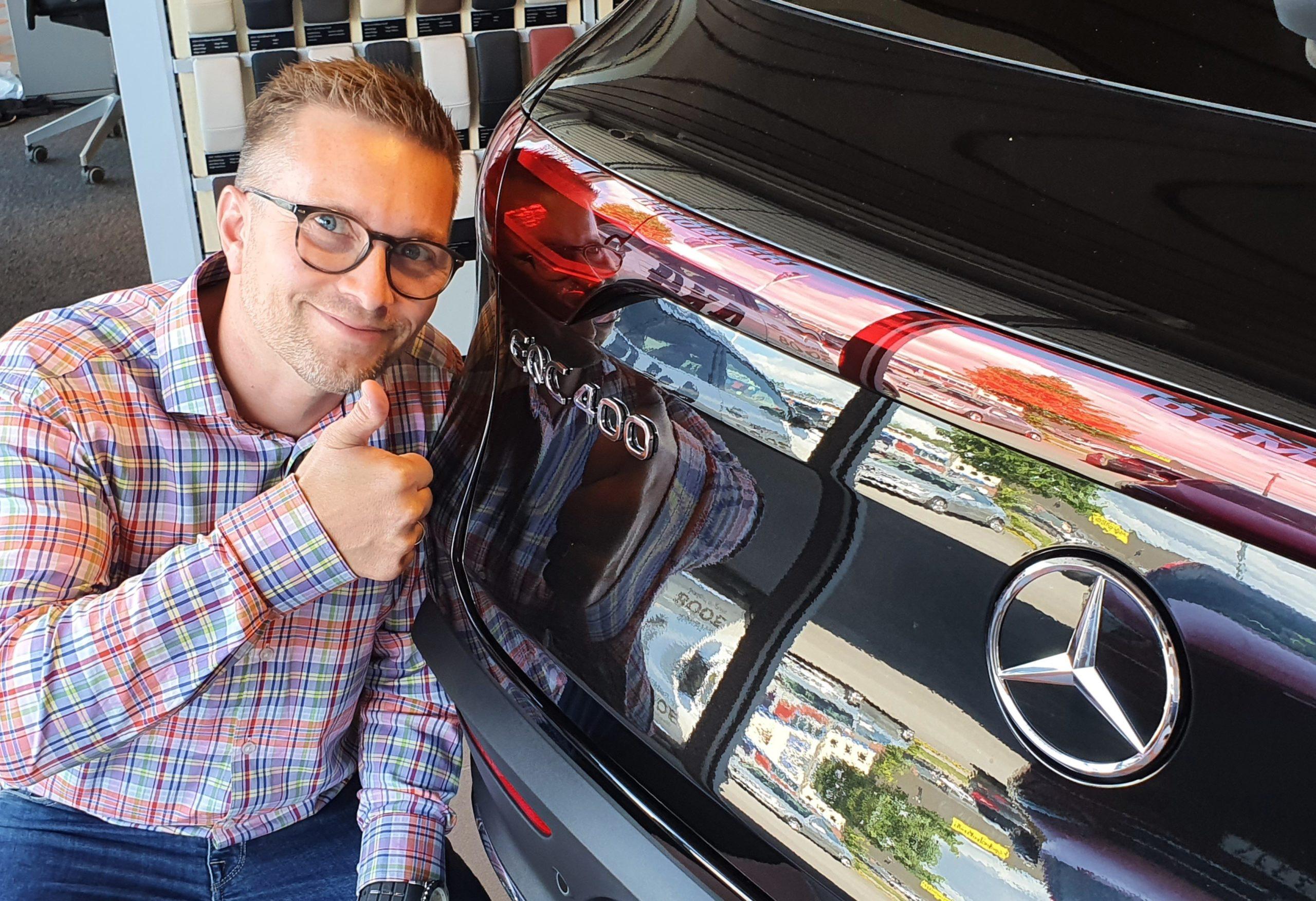 Anders og Mercedes-Benz EQC