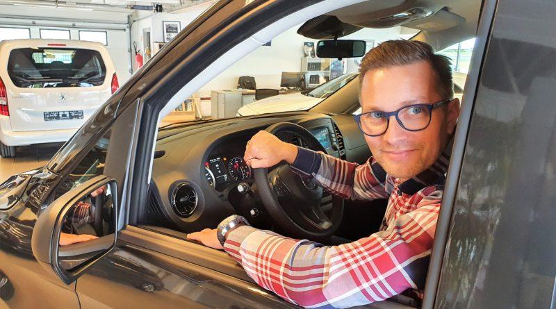Anders og Mercedes-Benz Vito