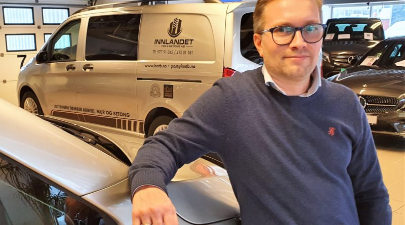 Anders og Mercedes-Benz Vito