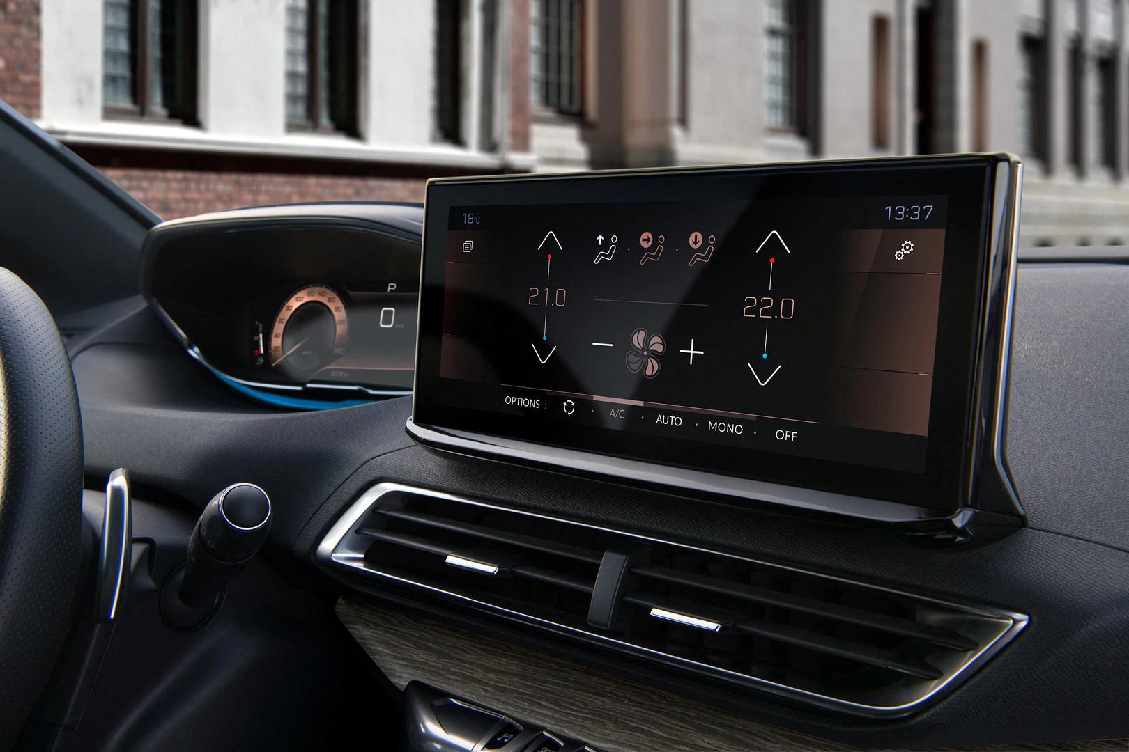 Nye Peugeot 3008 - Interiør