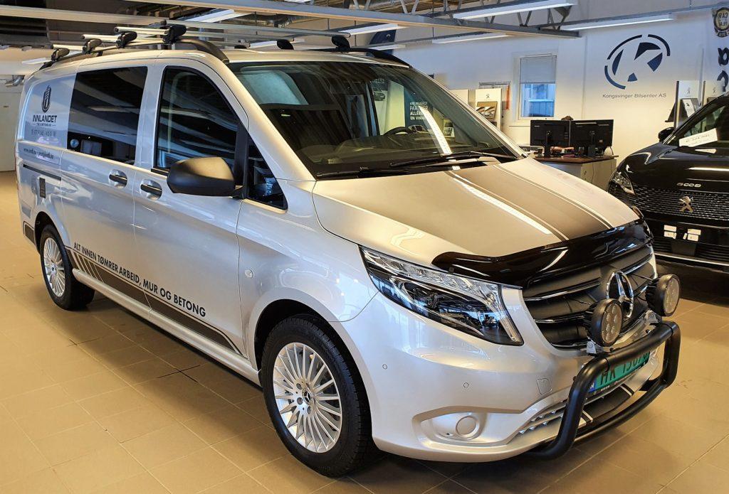 Bilde av Mercedes-Benz Vito til Innlandet Tre og Betong