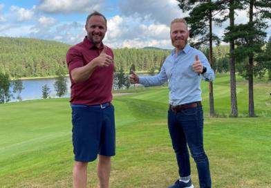 Daniel Larsson og Lars Erik Fremming