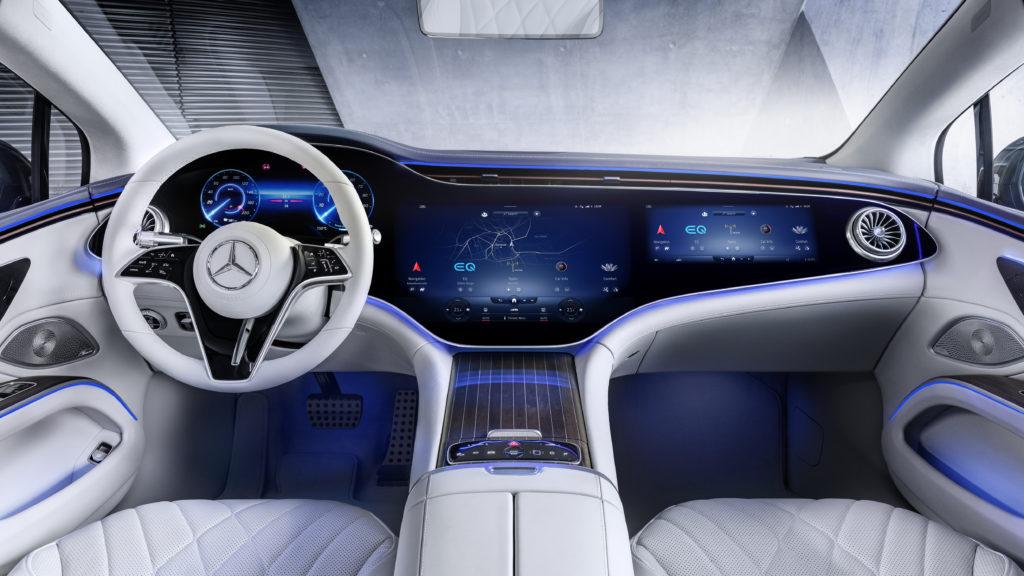 Interiør Mercedes Benz EQS